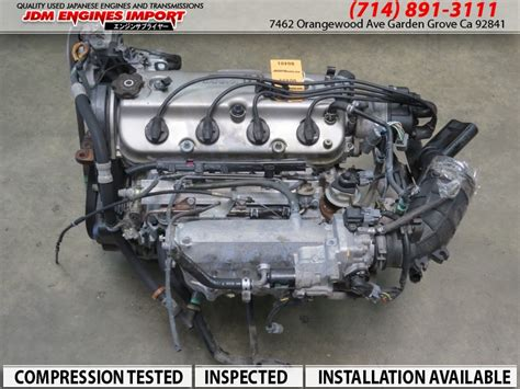 jdm honda fb engine   accord  sohc  dx