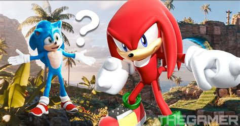 Wait Was That Knuckles In The Sonic Movie