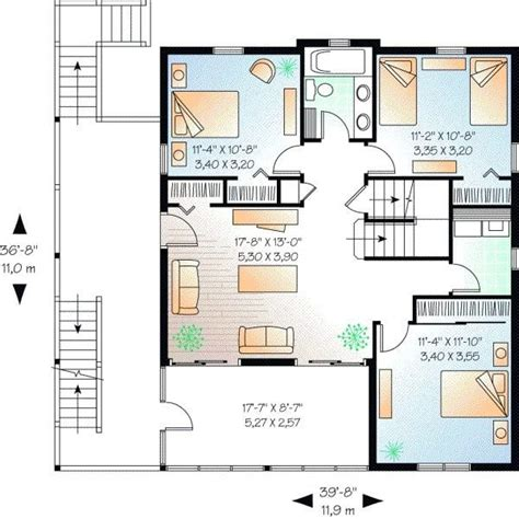 Luxury 5 Bedroom 3 Bath House Plans New Home Plans Design