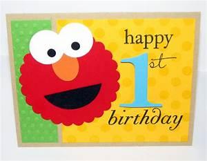 Glitter Ink: Elmo says Happy Birthday!