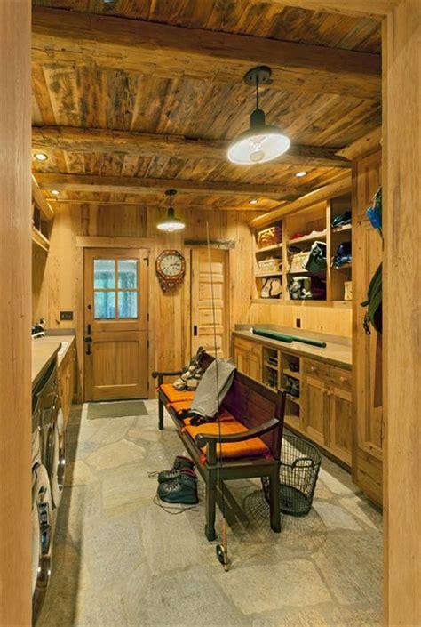 chestnut hall rustic laundry room   platt