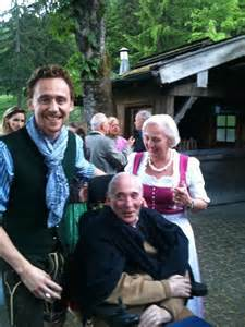 Tom Hiddleston and His Family
