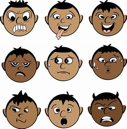 Expressions Male Emotions Smiley Characters Svg Vector