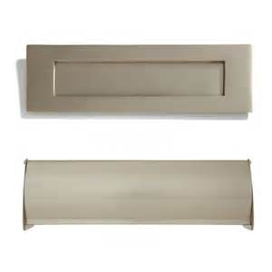 brushed nickel cabinet hardware heavy brass mail slot outdoor