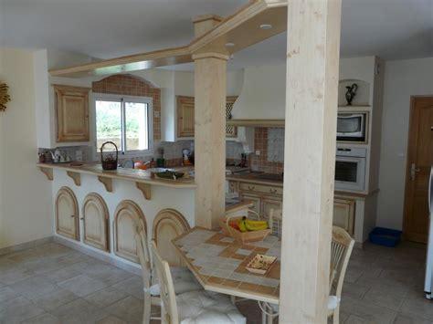modele de cuisine provencale moderne cuisines rustiques et provençales sud ouest cuisines
