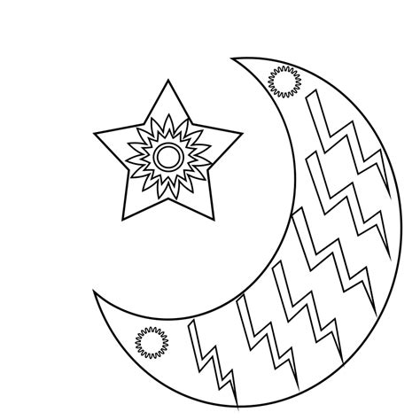 best moon coloring pages to print adults kindergarten 498 | Moon Coloring Pages for Adults