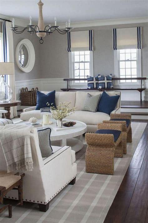 #whitelivingroom in 2020 Coastal decorating living room