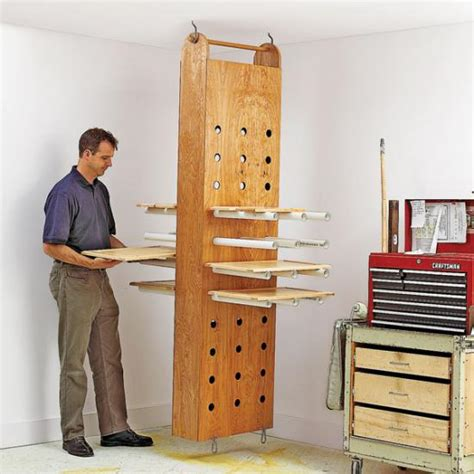 drop  drying rack wood magazine