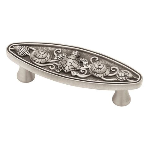 35 inch cabinet pulls home depot liberty seaside cottage 3 in 76mm brushed satin pewter