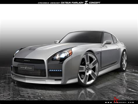 New Datsun 240z by New Datsun 240z Fairlady Z Retro Concept With A Touch Of