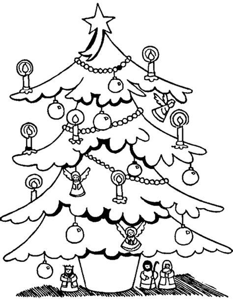 193 rboles de navidad para colorear navidad