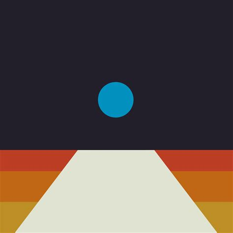 Abstract Wallpaper Minimal by Av63 Tycho Blue Illustration Abstract Minimal
