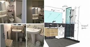 Implantation Salle De Bain : comment am nager une salle de bain de 5m2 coaching d co ~ Dailycaller-alerts.com Idées de Décoration