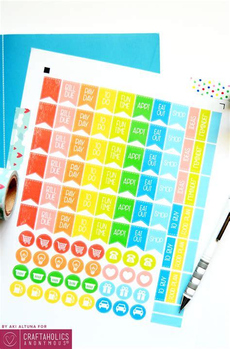 Free vector stock | stickerbombing запись закреплена. Craftaholics Anonymous® | Free Planner Stickers Printable ...