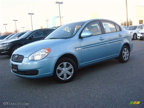 2007 Hyundai Accent by Blue 2007 Hyundai Accent Gls Sedan Exterior Photo