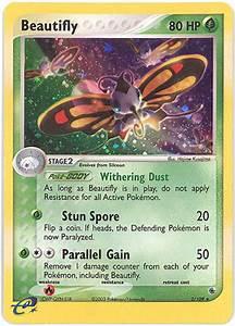 Beautifly Pokemon Card Images | Pokemon Images