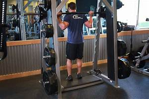 Smith Machine Reverse Calf Raises Exercise Guide And Video
