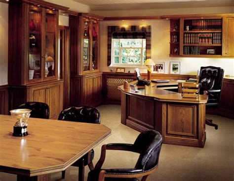 Contemporary Bespoke Executive Office Furniture By