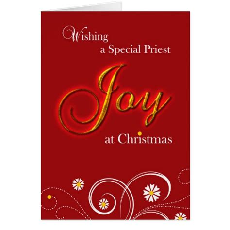 gifts for priests christmas catholic priest at card zazzle