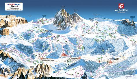 skikarte skigebiete groedenseiser alm und dolomiti superski
