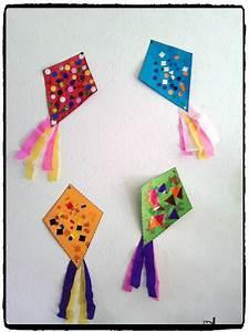 Activité Manuelle été : bricolage cerf volant t plage activit enfant ~ Melissatoandfro.com Idées de Décoration