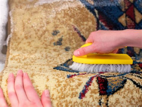 Washing Rugs At Home by How To Clean A Rug Diy