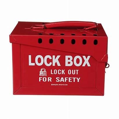 Box Lock Metal Extra Brady Boxes Seton