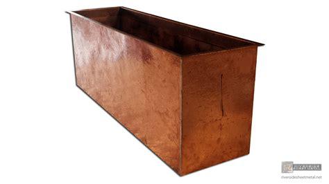 best kitchen backsplash hammered copper planter flower box riverside