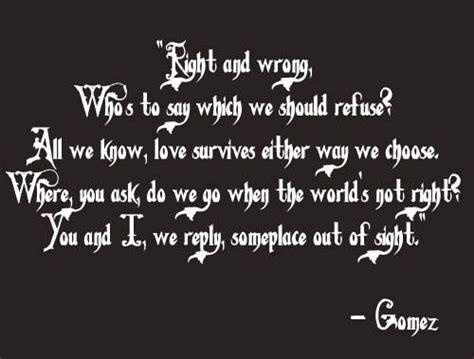 Gomez Addams Family Quotes