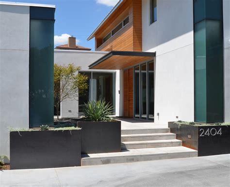 entry door hardware corten steel planters landscape contemporary with none