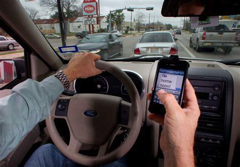 sugar land ban  texting  driving   effect