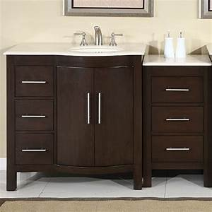 535 inch modern single bathroom vanity uvsr0912rm53 With 53 inch bathroom vanity