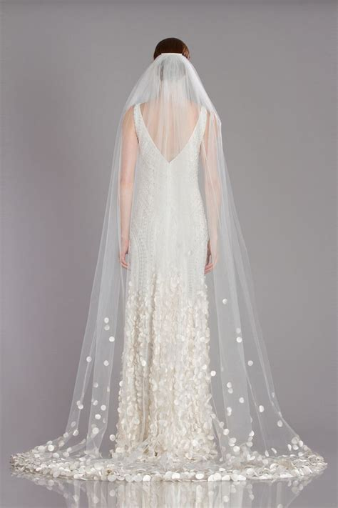 Theia Petal Veil Accessorize Your Bridal Look