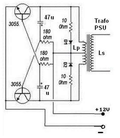 circuit diagram inverter 500w diagram