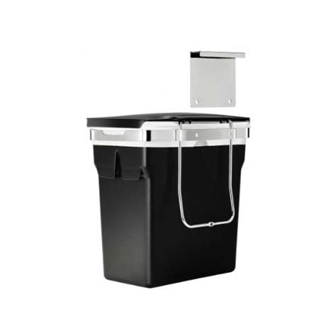 cabinet door trash can wastebasket hanging heavy duty