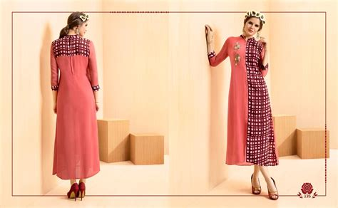 chakudee 187 kajree fashion rangoon vol 2 kurties collection wholesale price supplier