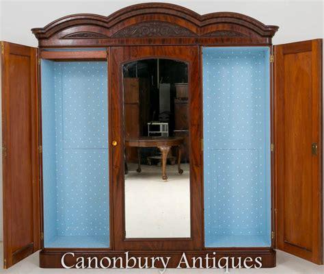 Wardrobe Closet Cabinet by Antique Gentlemans Wardrobe Closet Cabinet 1860