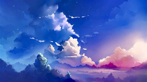anime wallpapers wallpapers anime kawaii sky art