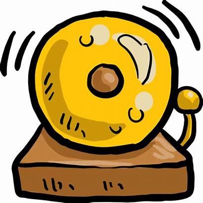 Bell Clipart Schedule Cartoon Bells Class Daily