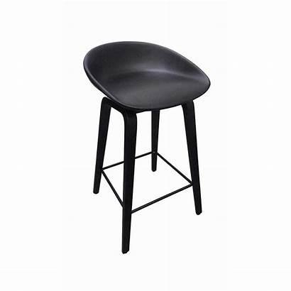 Bar Stool Timber Plastic Frame Seat Kitchen