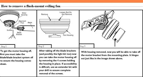 flush mount dual motor ceiling fan how to remove a hton bay flush mount ceiling fan the