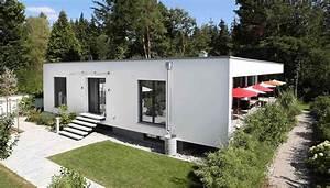 Kreativ Beton Bauhaus : architekten 2p raum einfamilienhaus fertighaus und massivhaus ~ Watch28wear.com Haus und Dekorationen