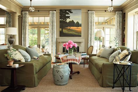 southern living family rooms southern living idea house