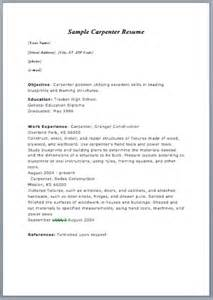sle resume format in word carpenter resume in ma sales carpenter lewesmr
