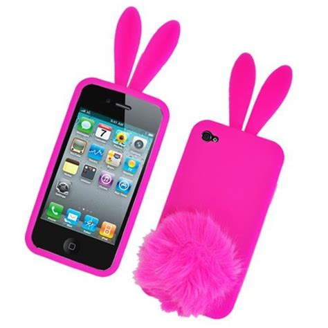 phone cases for iphone 4 bunny skin with for apple iphone 4 just 1