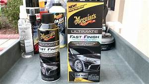 New Meguiar's Ultimate Fast Finish - WaxMode Review - YouTube