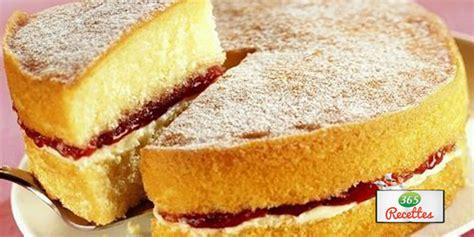 recette sponge cake  lamericaine