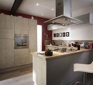 stunning hotte pour cuisine ouverte images joshkrajcik With hotte pour cuisine ouverte