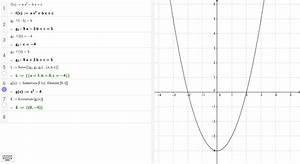 Parabel Rechnung : scheitelpunkt einer parabel aus drei punkten geogebra ~ Themetempest.com Abrechnung