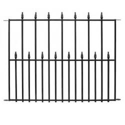 Deck Gates Lowes by 36 In X 30 In Empire Steel 3 Rail Fence Panel 061115